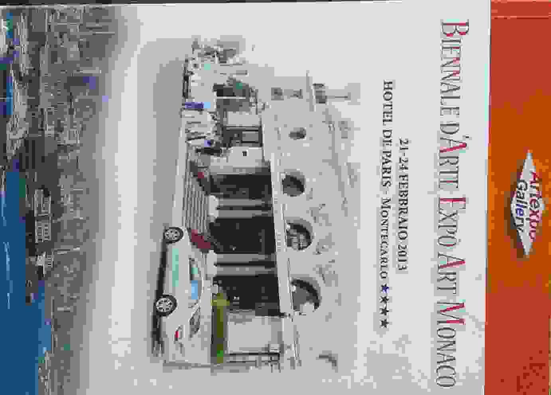 Biennale arte expo Monaco