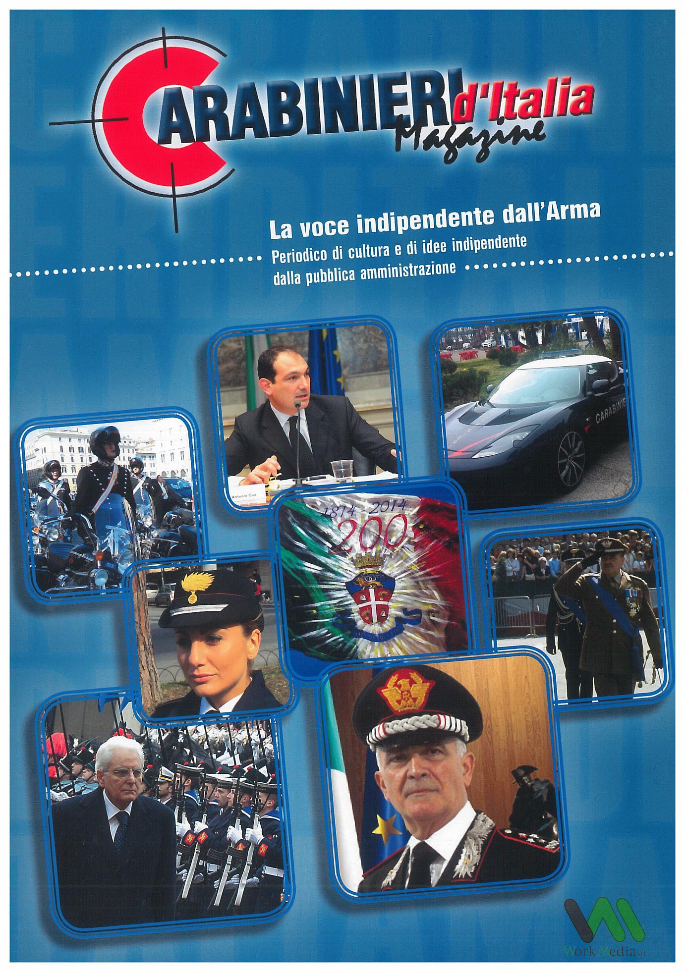 Copertina Carabinieri dItalia Magazine 1-2